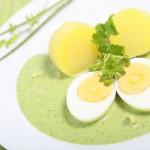 Frankfurter grüne Soße mit Ei und Kartoffeln