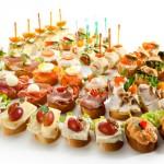 Fingerfood und Häppchen an Silvester